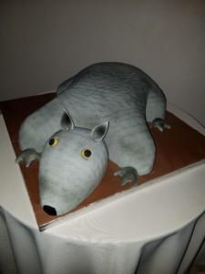 Haydel's Bakery Armadillo cake